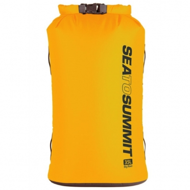 Sea To Summit Big River dry bag 35 liter geel 973415