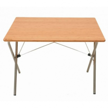 Snow Peak Garden Single Action Table Bamboo (LV-010G)