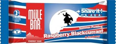 MuleBar Reep Summer Pudding raspberry blackcurrant 30 x 40 gram