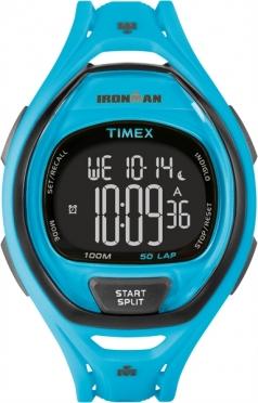 Timex Sleek 50 Neon Blue
