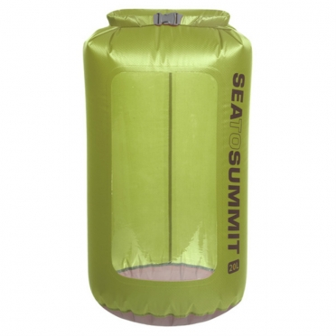 Sea To Summit UltraSil view dry sack XL 20 liter groen 974774