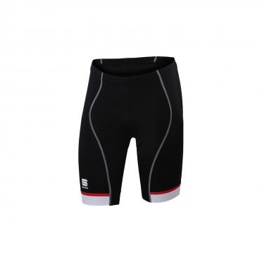 Sportful Giro 2 Sol fietsbroek 24cm zwart/wit/rood heren