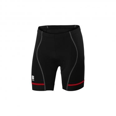 Sportful Giro 2 Sol fietsbroek 18cm zwart/rood heren