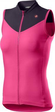 Castelli Solaris SL fietsshirt roze dames