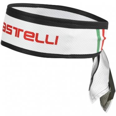 Castelli Headband fiets hoofdband wit