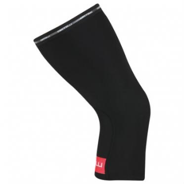 Castelli Thermoflex kneewarmer kniewarmers zwart/rood 14041-123 2015