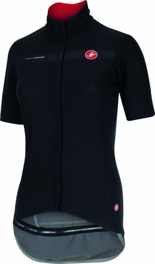 Castelli gabba W korte mouw jacket zwart dames 15574-010
