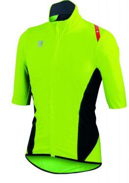 Sportful Fiandre Light Norain Short sleeve fietshirt geel heren