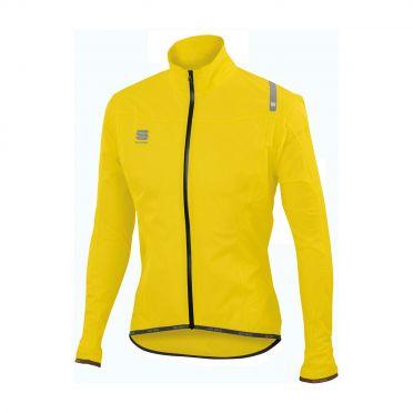 Sportful Hotpack norain ultralight lange mouw jacket fluo geel heren