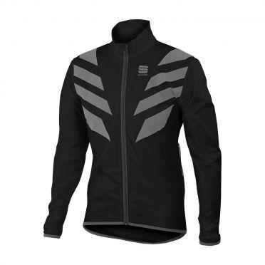 Sportful Reflex lange mouw jacket zwart heren