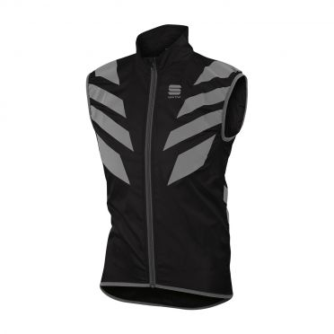 Sportful Reflex mouwloos vest zwart heren