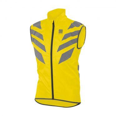 Sportful Reflex mouwloos vest fluo geel heren