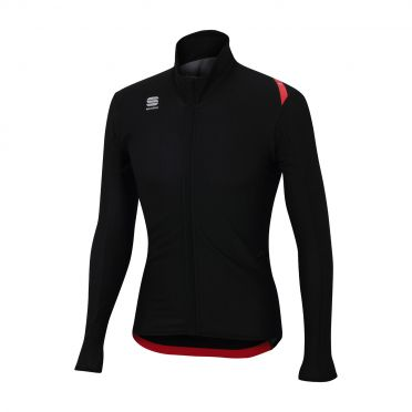 Sportful Fiandre light wind lange mouw jacket zwart heren