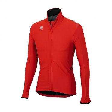 Sportful Fiandre light wind lange mouw jacket rood heren