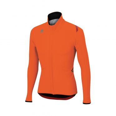 Sportful Fiandre light wind lange mouw jacket oranje heren