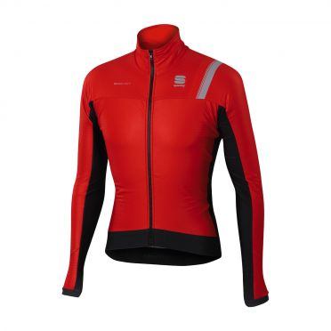 Sportful Bodyfit pro thermal lange mouw jacket rood/zwart heren