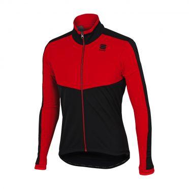 Sportful Pordoi WS lange mouw jacket rood/zwart heren