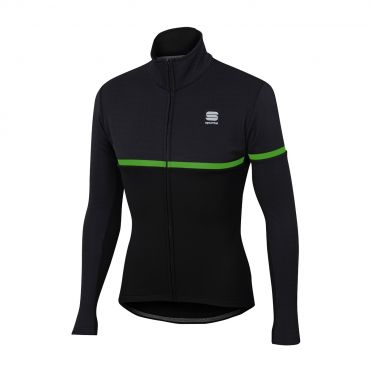 Sportful Giara softshell jacket zwart/groen heren