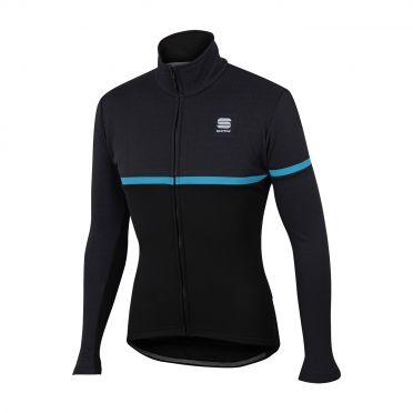 Sportful Giara softshell jacket zwart/blauw heren