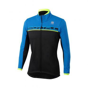 Sportful Giro softshell jacket zwart/blauw heren