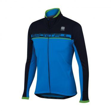 Sportful Giro softshell jacket blauw/zwart heren