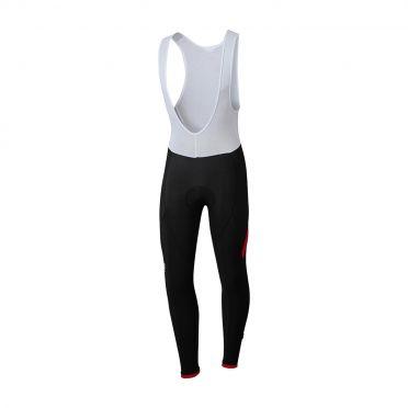 Sportful Giro bibtight zwart/rood heren