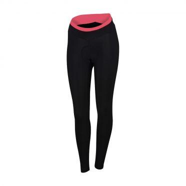 Sportful Luna thermal tight zwart/roze dames