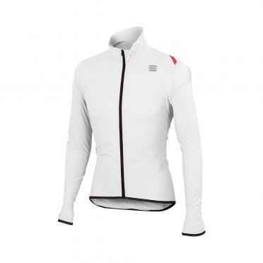 Sportful Hot pack 6 lange mouw jacket wit heren