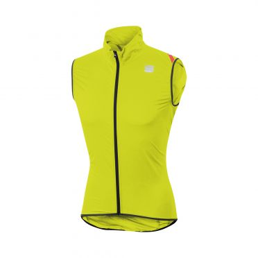 Sportful Hot pack 6 mouwloos vest geel heren