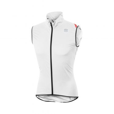 Sportful Hot pack 6 mouwloos vest wit heren