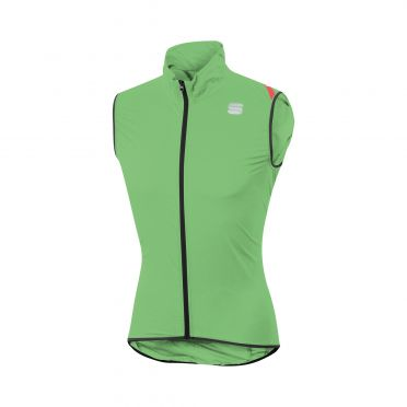 Sportful Hot pack 6 mouwloos vest groen heren