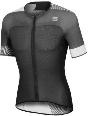 Sportful Bodyfit pro light jersey korte mouw fietsshirt zwart/wit heren