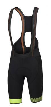 Sportful Bodyfit pro ltd bibshort zwart/fluo geel heren