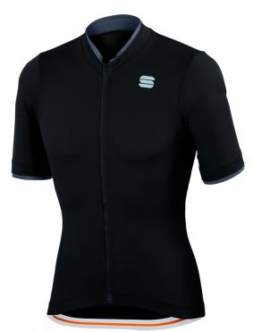 Sportful Infinite jersey korte mouw fietsshirt zwart heren