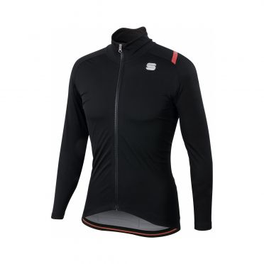 Sportful Fiandre ultimate 2 WS lange mouw jacket zwart heren