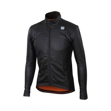 Sportful R&D intensity lange mouw jacket zwart heren