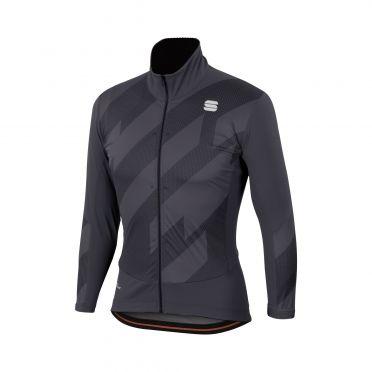 Sportful Attitude lange mouw jacket antraciet/zwart heren