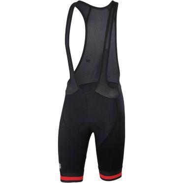 Sportful Bodyfit Team classic zwart/rood heren