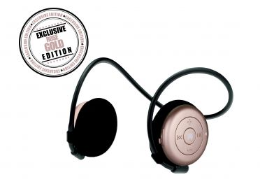 Miiego AL3+ Freedom draadloze bluetooth hoofdtelefoon woman rose gold