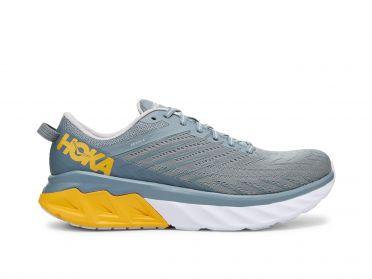 Hoka One One Arahi 4 Wide hardloopschoenen blauw/geel heren