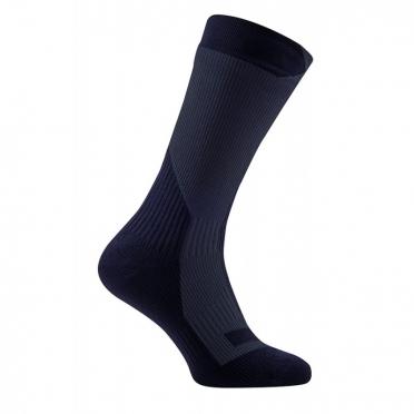 Sealskinz Trekking thick mid waterdichte sokken zwart