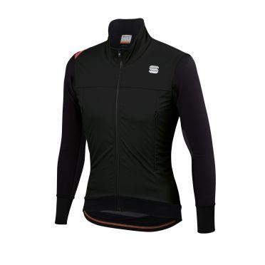 Sportful Fiandre strato wind lange mouw jacket zwart heren