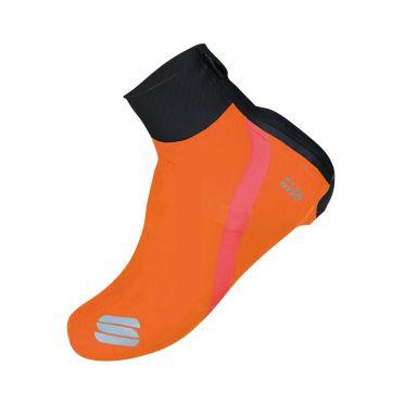 Sportful Fiandre overschoen zwart/oranje
