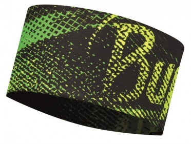 BUFF Headband flash logo yellow fluor