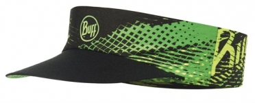 BUFF Run visor R-flash logo yellow fluor