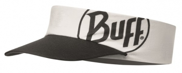 BUFF Run visor R-solid white