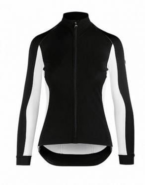 Assos TiburuJacketLaalalai fietsjack zwart/wit dames