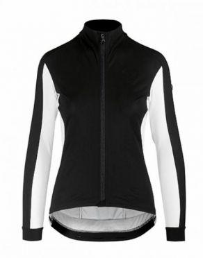 Assos HabuJacketLaalalai fietsjack zwart/wit dames