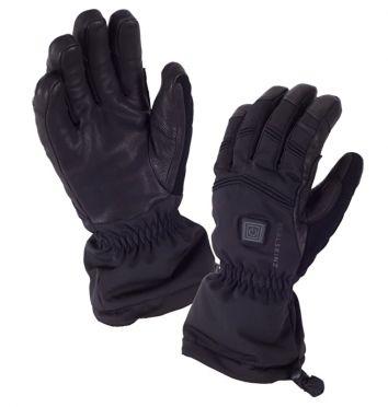 SealSkinz Extreme cold weather verwarmde fietshandschoenen zwart