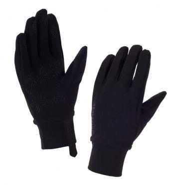 SealSkinz Stretch fleece nano fietshandschoenen zwart dames